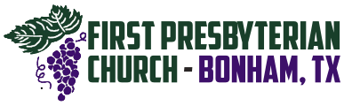 First Presbyterian Church – Bonham, TX Logo
