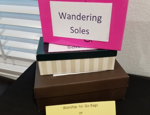Worship-To-Go and Wandering Soles