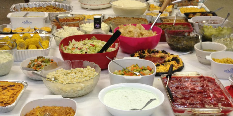 Potluck Lunch on July 30